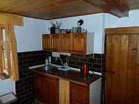 Kuchyně 1 - chalupa ubytování Petrovice u Sušice - Strunkov