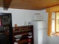 Kuchyně 2 - chalupa k pronájmu Petrovice u Sušice - Strunkov