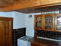 Kuchyně 3 - chalupa k pronajmutí Petrovice u Sušice - Strunkov