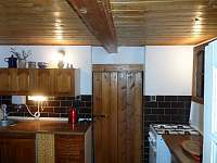 Kuchyně 4 - pronájem chalupy Petrovice u Sušice - Strunkov