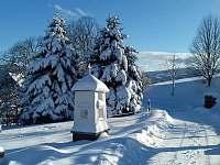 Okolí chalupy - zima - k pronájmu Petrovice u Sušice - Strunkov