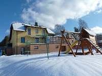 Zima U Vongrejů - pronájem apartmánu Lipno nad Vltavou