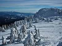 Překrásná zimní krajina