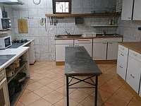 kuchyně - chata k pronajmutí Železná Ruda - Špičák