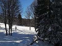pohled na Hofmanky - chata k pronajmutí Železná Ruda - Špičák