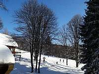 pohled na Hofmanky - chata k pronájmu Železná Ruda - Špičák