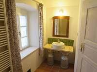 koupelna - chalupa k pronajmutí Sušice - Chmelná
