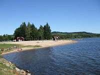 Hlavní městská pláž. - chata k pronájmu Horní Planá