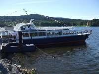 Lodní doprava na Lipně. - Horní Planá