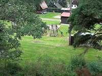 Výhled z podkroví - pronájem chaty Horní Planá