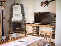 Obývací pokos s kuchyní - Svojše