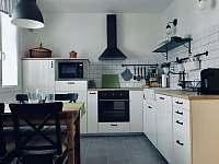 Kuchyň - apartmán ubytování Železná Ruda