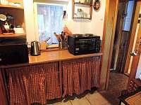 Kuchyňka - chata ubytování Klenčí pod Čerchovem - Capartice