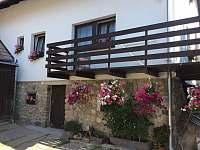 Balkon A3 - apartmán k pronájmu Horní Planá