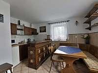 Apartmán č. 1 kuchyně - ubytování Horní Vltavice