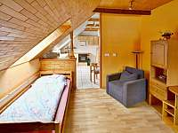 Apartmán č. 2 obývací pokoj - Horní Vltavice