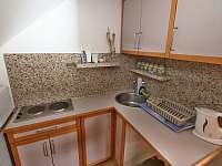 Apartmán č. 3 kuchyně - Horní Vltavice