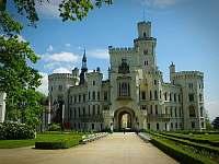 Tip na vylet:zamek Hluboka nad Vltavou - Hnačov