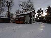 ubytování Dolní Vltavice na chatě k pronájmu