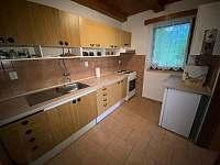 kuchyně - chata k pronajmutí Horní Planá - Hůrka