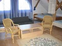 Ložnice č.6/podkroví/- pro 11osob:3xdvoulůžko/š.160cm/,3xjednolůžko,rozkl.gauč