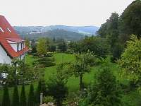 pohled z balkonu - pronájem chalupy Nezdice na Šumavě