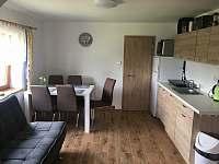 kuchyně obývací - chata k pronajmutí Lipno nad Vltavou - Kobylnice