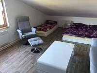 ložnice podkroví - chata k pronájmu Lipno nad Vltavou - Kobylnice