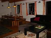 Obývací pokoj Apartmán A - Humpolec na Šumavě