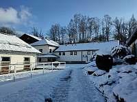 Pod sněhem - ubytování Chudenín