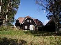 ubytování v Českém lese Chalupa k pronajmutí - Nové Hutě