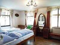 Ložnice 1 - pronájem chalupy Nýrsko - Blata