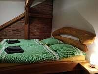 Apartmán č.2 ložnice, manželská postel - Zátoň - Kaplice