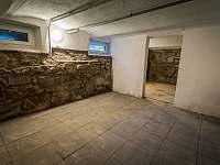 kamenný sklep - Nová Pec