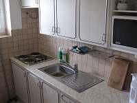 Společná kuchyňka na patře
