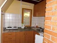 pětilůžková chata - kuchyně - pronájem Horní Planá - Jenišov