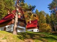 ubytování Horní Planá - Jenišov Chatky na horách