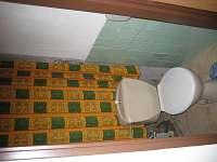 WC - pronájem chalupy Vlčkovice