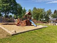 dětské hřiště - apartmán k pronajmutí Přední Výtoň
