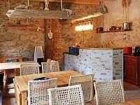 Jídelna-bar - chalupa ubytování Zdíkov - Nový Dvůr