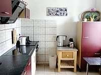 Kuchyň - pronájem chalupy Zdíkov - Nový Dvůr