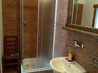 koupelna - chalupa k pronájmu Sviňovice