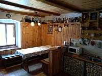 kuchyně - chalupa k pronajmutí Sviňovice