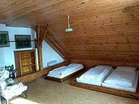 ložnice 1a - pronájem chalupy Sviňovice