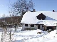 v zimě - chalupa k pronájmu Sviňovice