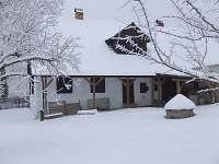 v zimě - chalupa ubytování Sviňovice