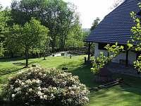 zahrada - chalupa ubytování Sviňovice