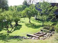 zahrada - chalupa k pronájmu Sviňovice