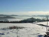 zima ve Sviňovicích - chalupa ubytování Sviňovice