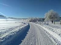 zima ve Sviňovicích - chalupa k pronajmutí